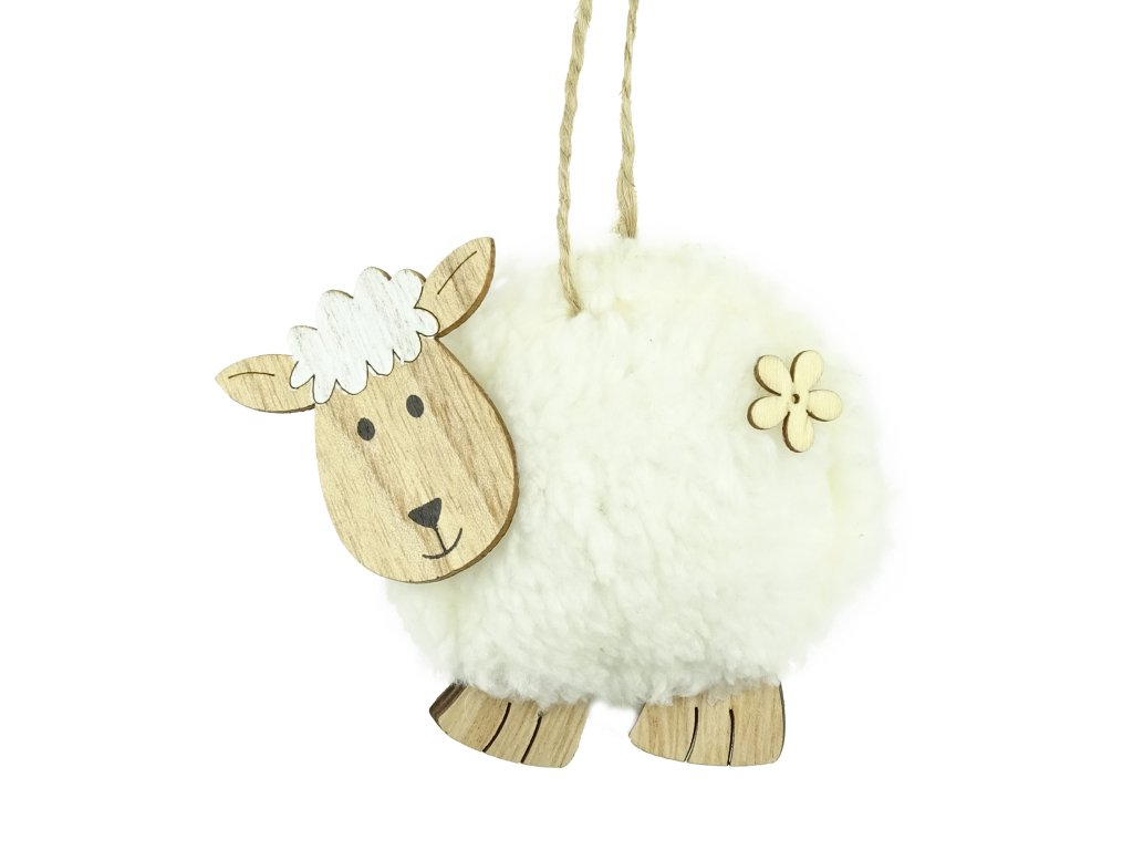 morex zavesna plysova ovecka