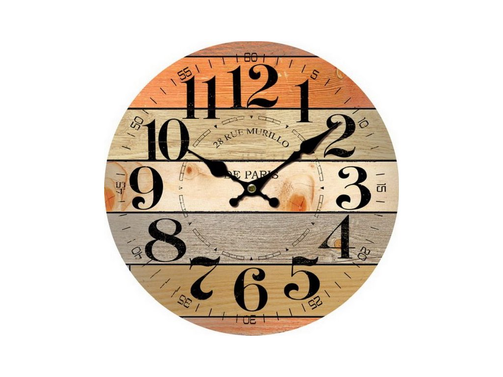 hodiny, de paris, prkna