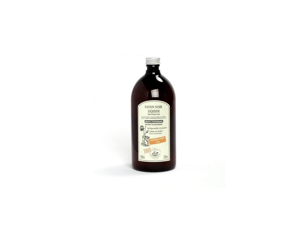savon noir pomerančsavon noir liquide menager 1l orange douce