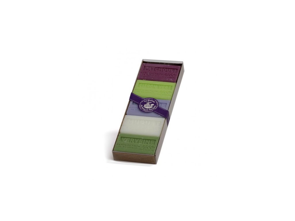 sada 5 60 karite coffret de 5 savons 60gr beurre de karite invite