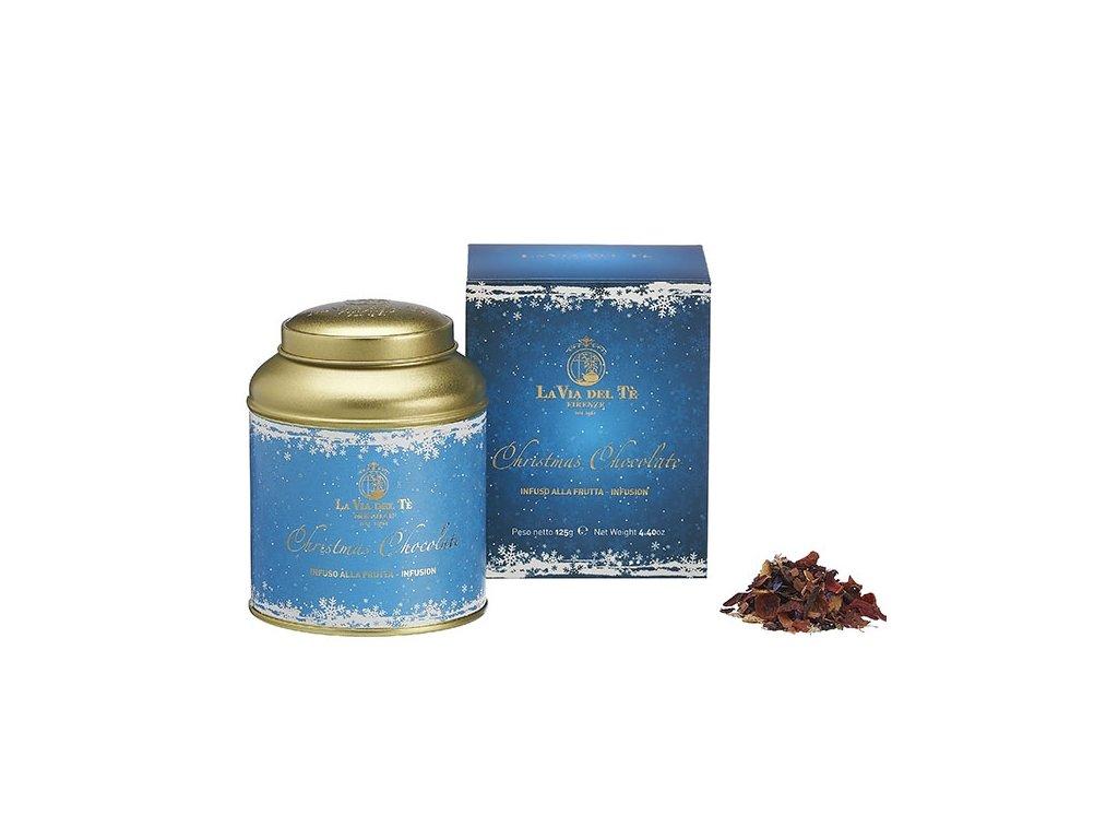 La via del Té Čaj ovocný Christmas Chocolate 125 g