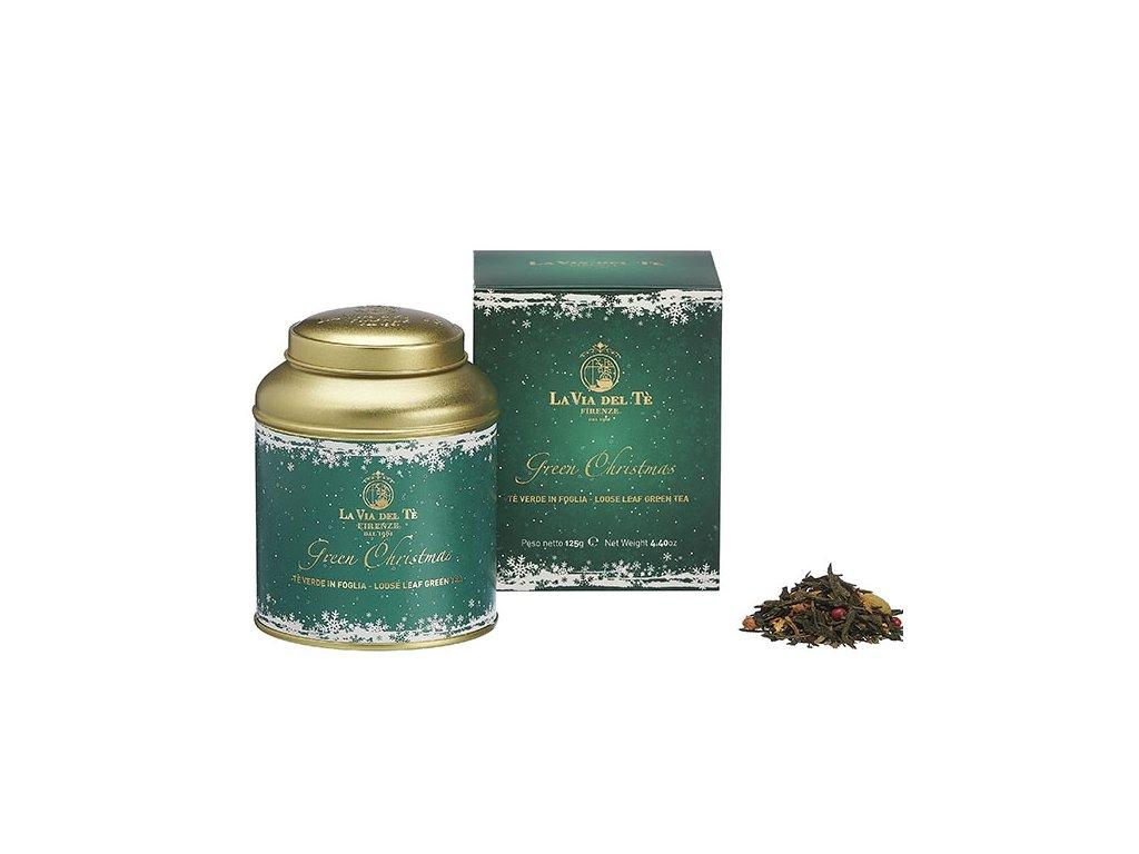 La via del Té Čaj zelený Green Christmas 125 g