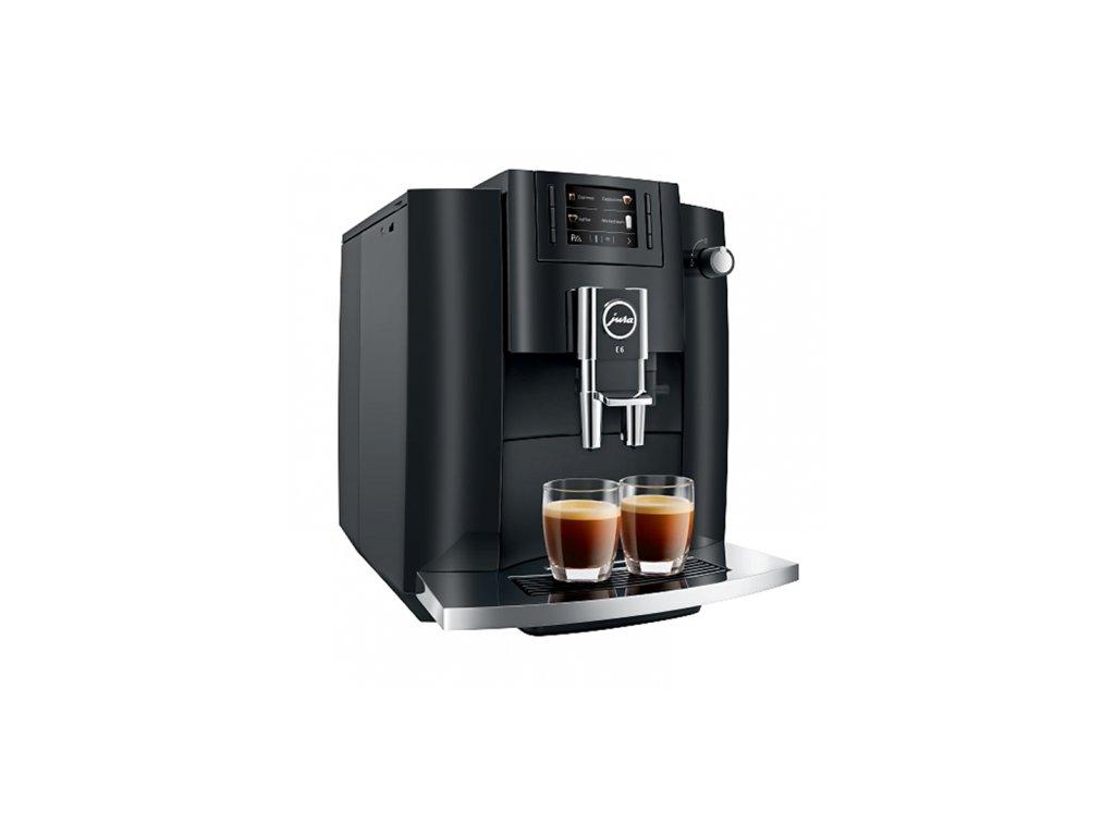 Kávovar jura e6 piano black 500x500