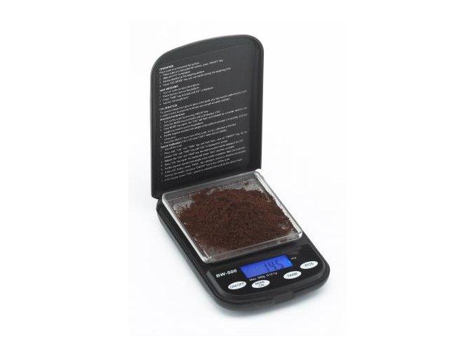 digitálna váha na kávu 500g