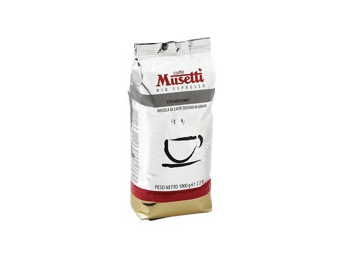 Musetti Cremissimo zrnková káva 1kg
