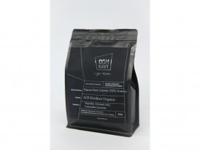 Dom Kávy Papua Nová Guinea zrnková káva 100% Arabica 200g
