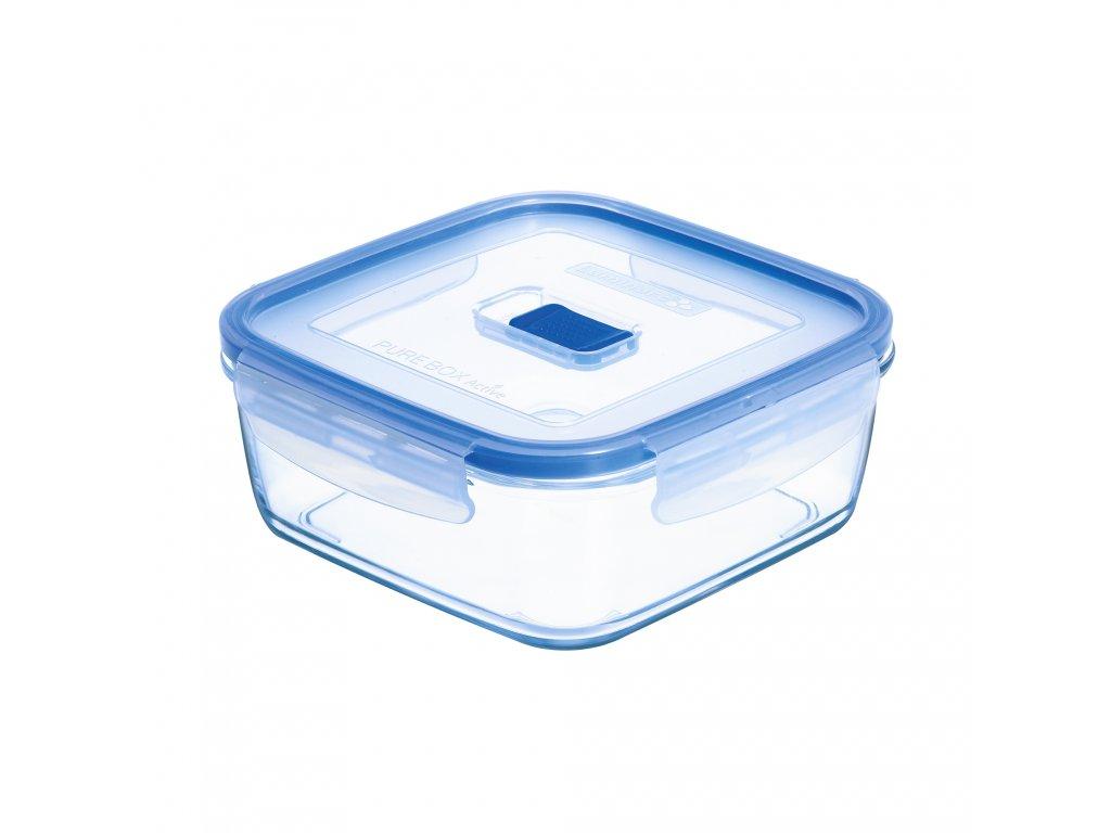 Hermetická nádobka Pure Box Active 13 x 13 cm, 760 ml LUMINARC