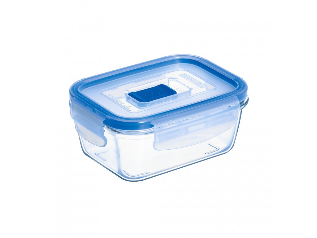 Hermetická nádobka Pure Box Active 12 x 8,5 cm, 380 ml LUMINARC