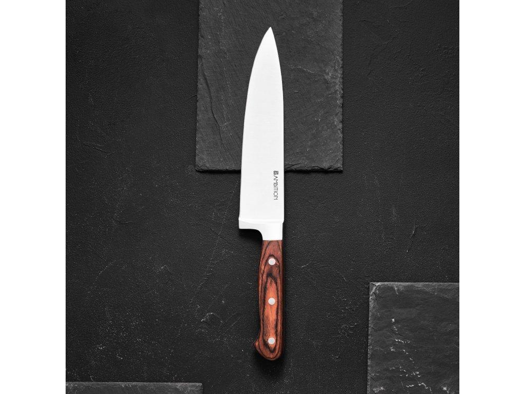Nůž šéfkuchaře Titanium 20 cm AMBITION