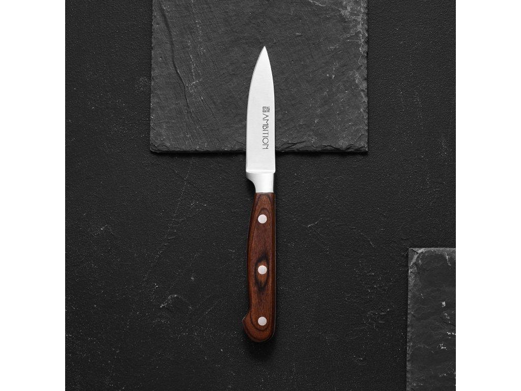 Loupací nůž Titanium 9 cm AMBITION