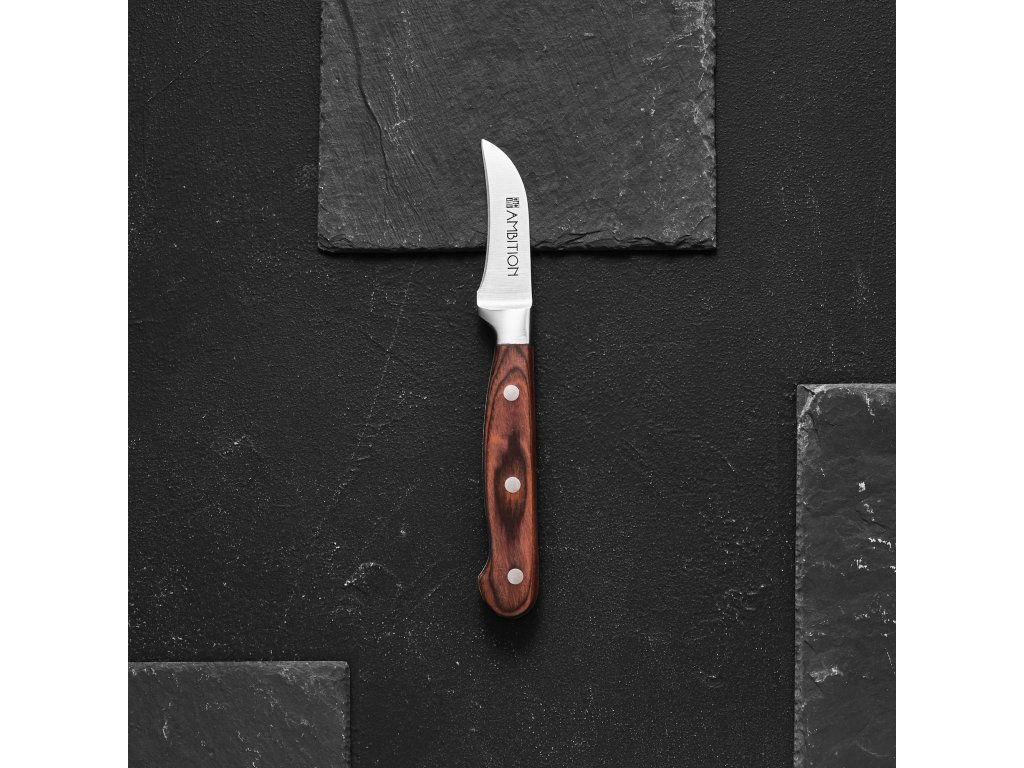 Loupací nůž Wood 5 cm AMBITION