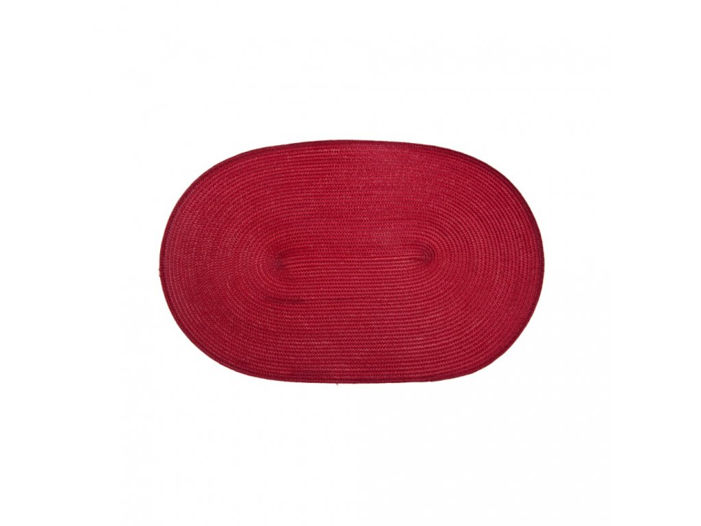 Podložka na stůl PP Fusion Fresh Red 30 x 45 cm AMBITION