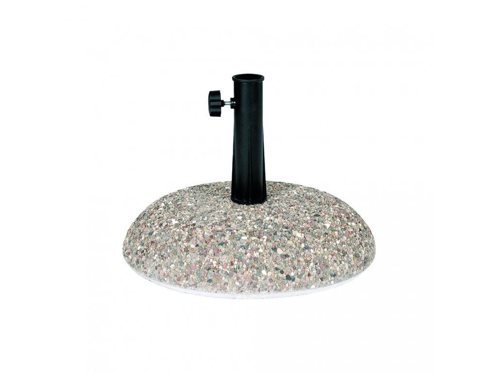 Podstavec pod slunečník z betonové drti 35 kg PATIO