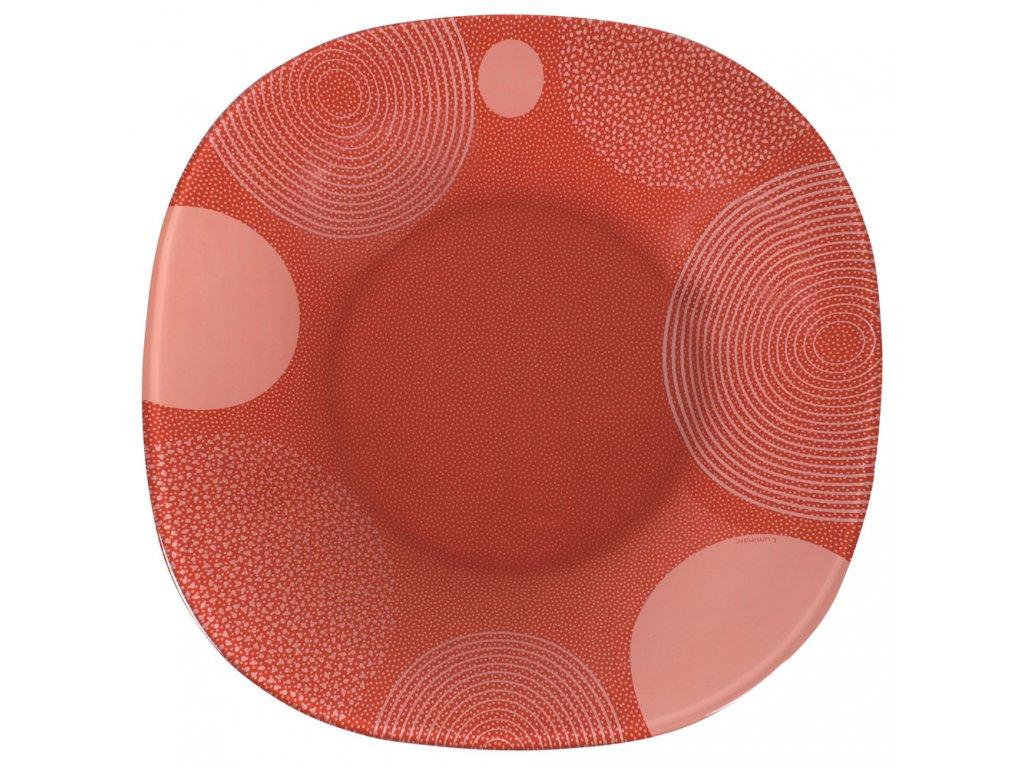 Hluboký talíř Constellation Red 20,5 x 20,5 cm LUMINARC