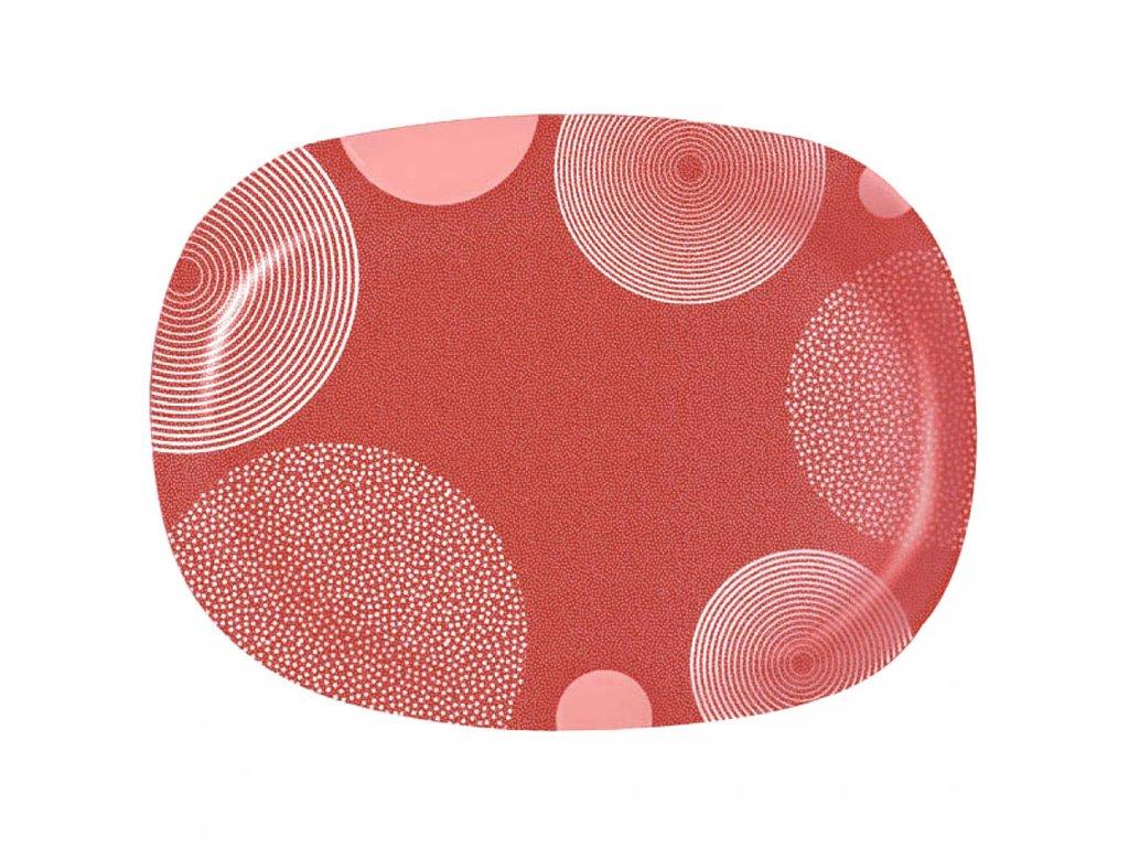 Servírovací talíř Constellation Red 34,5 x 24,4 cm LUMINARC