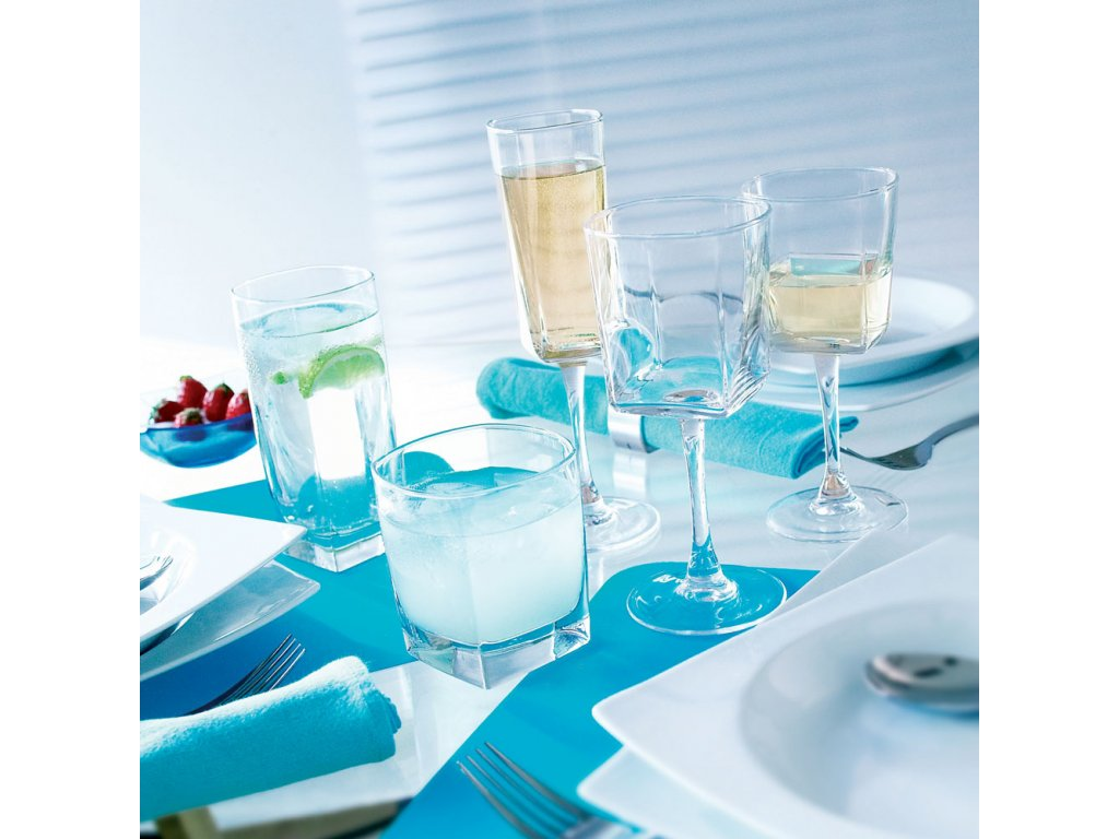 Sada 6 nízkých sklenic Sterling 300 ml LUMINARC
