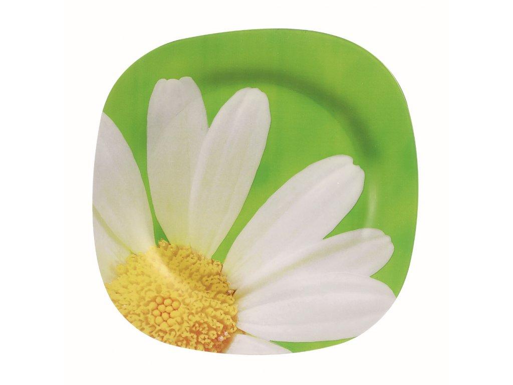 Mělký talíř Paquerette 25,5 x 25,5 cm LUMINARC