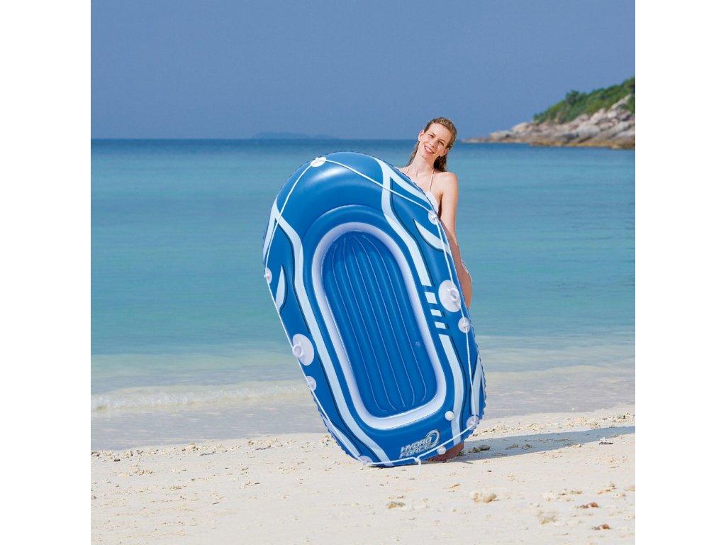 Nafukovací loďka pro 1 osobu Tidal Wave 153 x 97 cm MIX BAREV BESTWAY