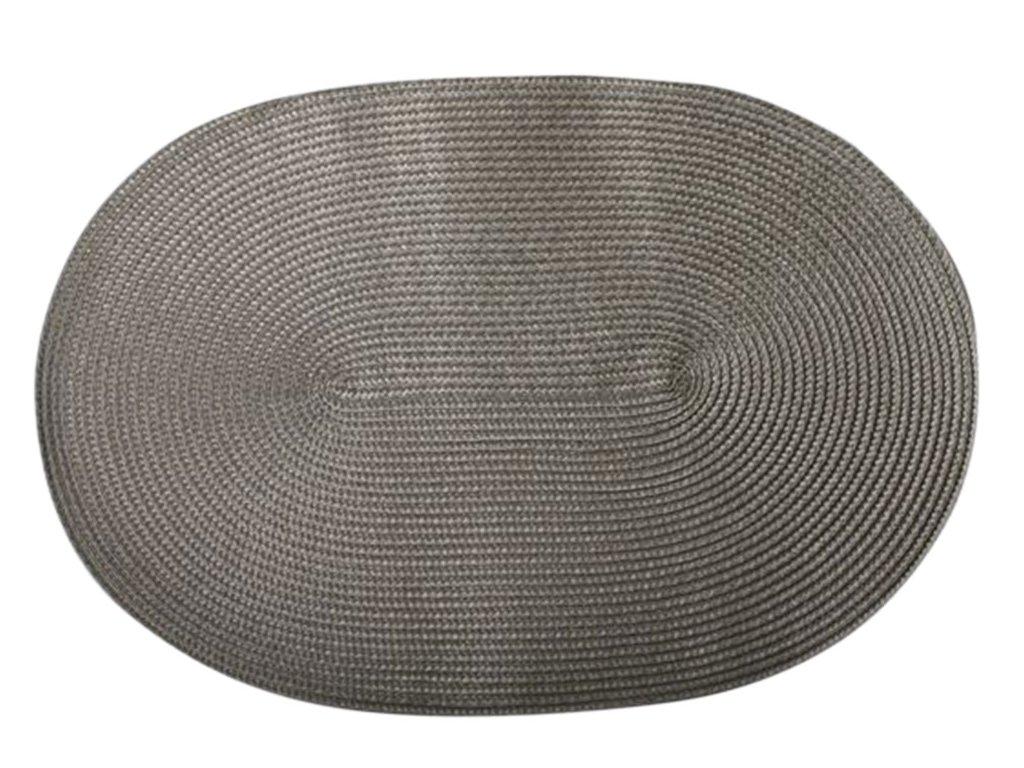 Podložka na stůl PP Grey 30 x 45 cm DOMOTTI