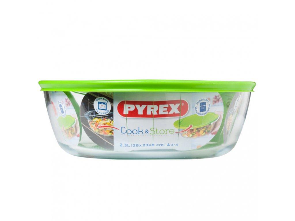 Žáruvzdorná nádobka s víkem Cook & Store 26 cm PYREX