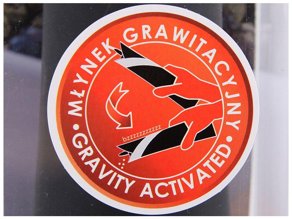 Elektrický gravitační mlýnek Electra Black AMBITION