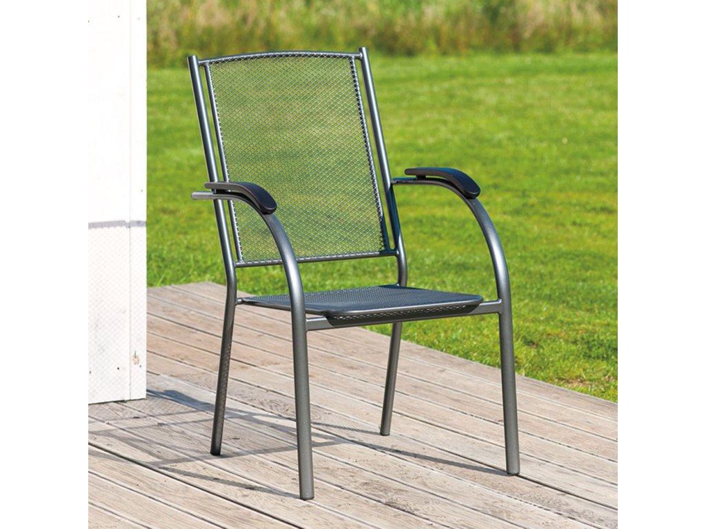Kovová zahradní židle Amber PATIO