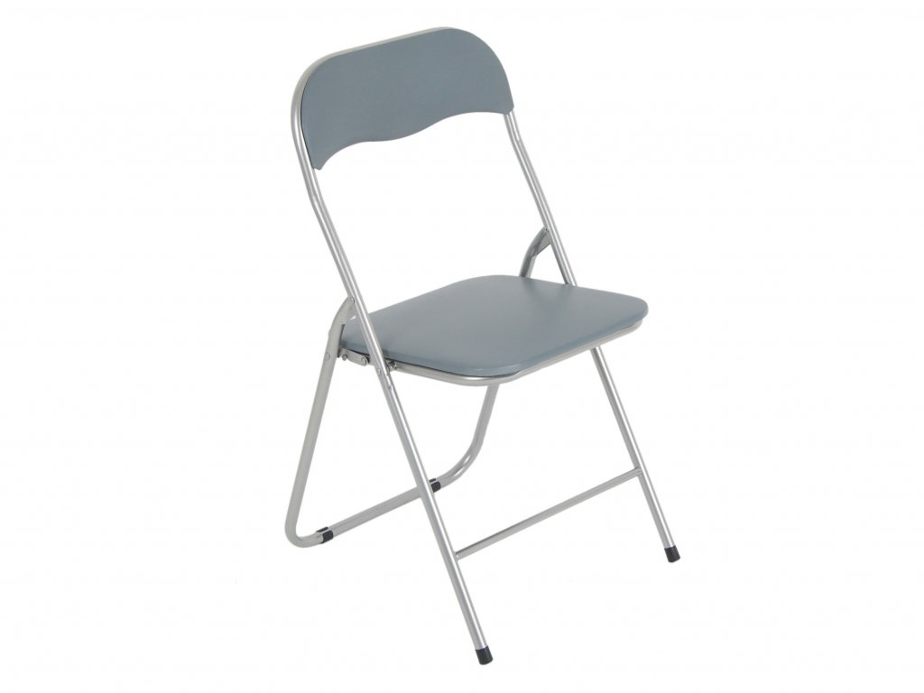 Skládací zahradní židle Grey / Silver PATIO