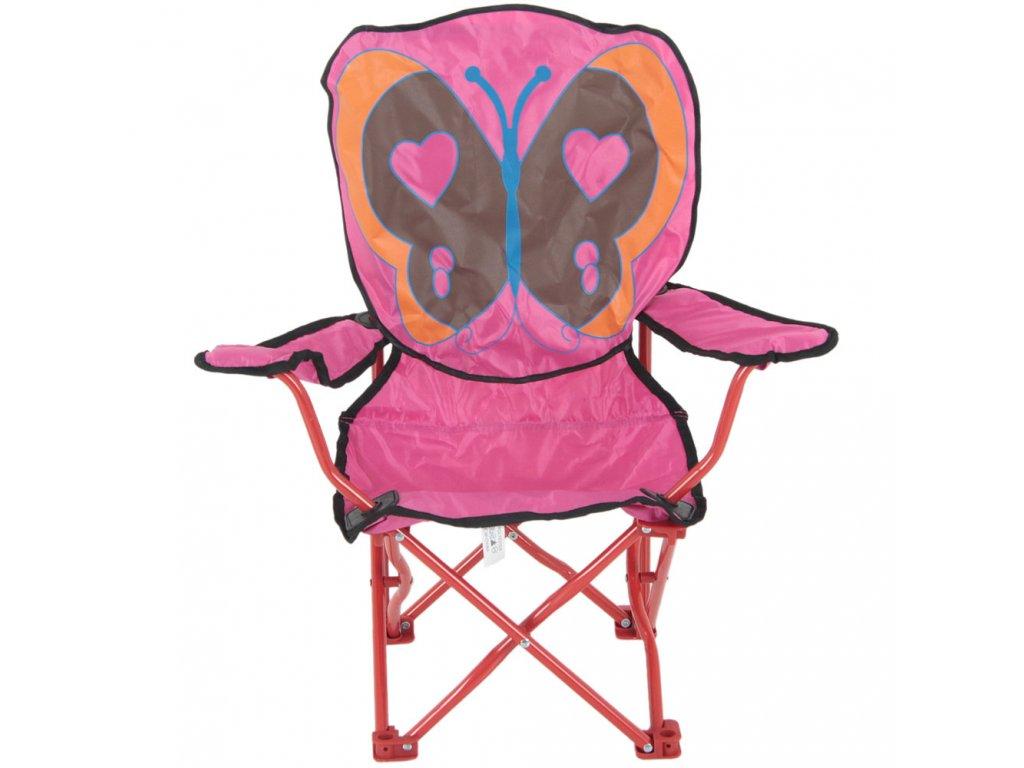 Skládací dětská židle Motýlek PATIO