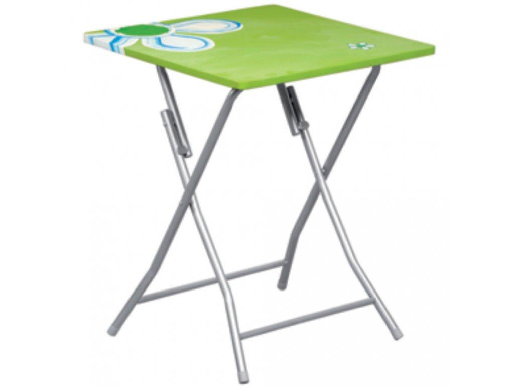 Skládací stůl Flower Green 60 x 60 cm PATIO