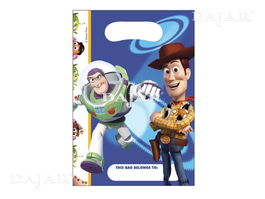 Sada 6 dárkových tašek fólie Toy Story DISNEY