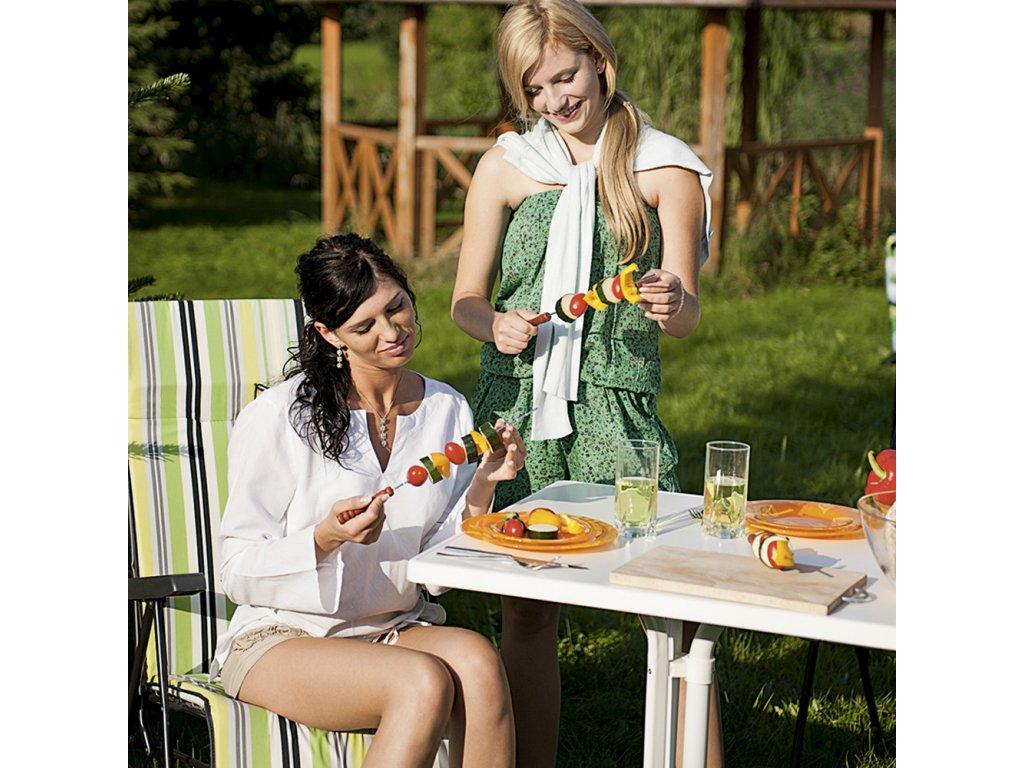 Zahradní stůl Dine & Relax White 115 x 70 cm PATIO