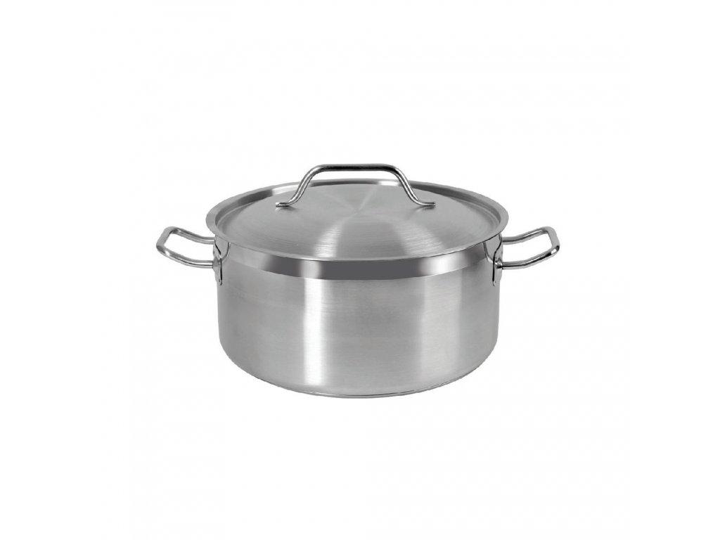 Gastronomický nerezový hrnec s poklicí Vitalux 30 cm, 10,5 l AMBITION