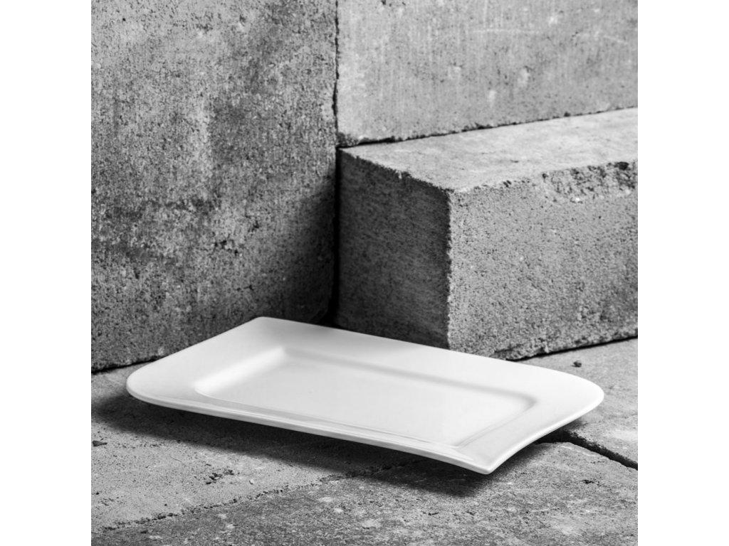 Mělký talíř Fala 26 x 17,5  cm AMBITION