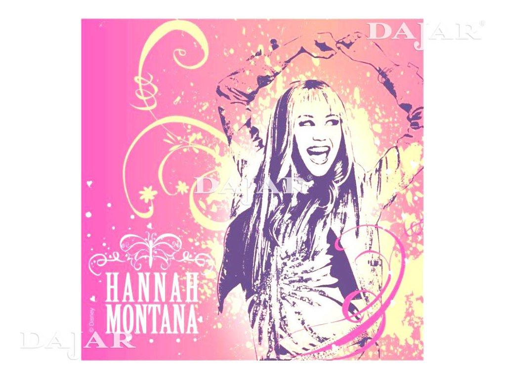 Sada 20 ubrousků Hannah Montana 33 x 33 cm DISNEY