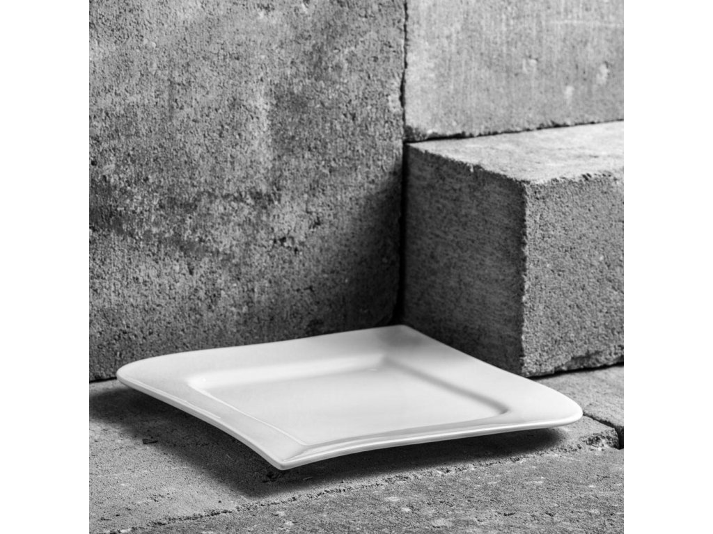 Dezertní talíř Fala 21 x 21 cm AMBITION
