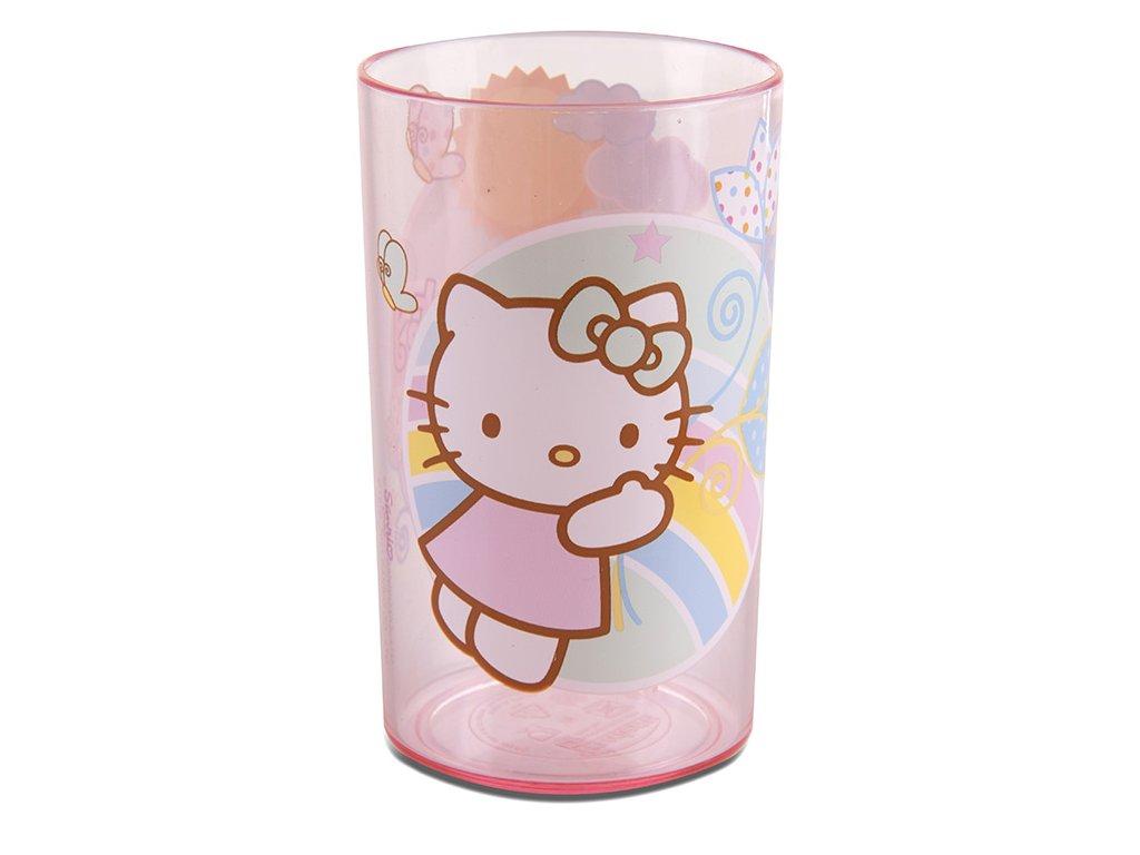 Melaminová sklenice Hello Kitty Flowers 225 ml DISNEY
