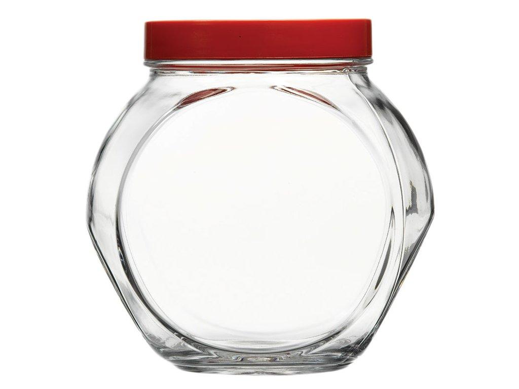 Nádobka s plastovým víčkem Bella 1,5 l PASABAHCE