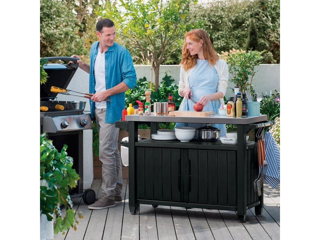 Zahradní bar / skříňka ke grillu