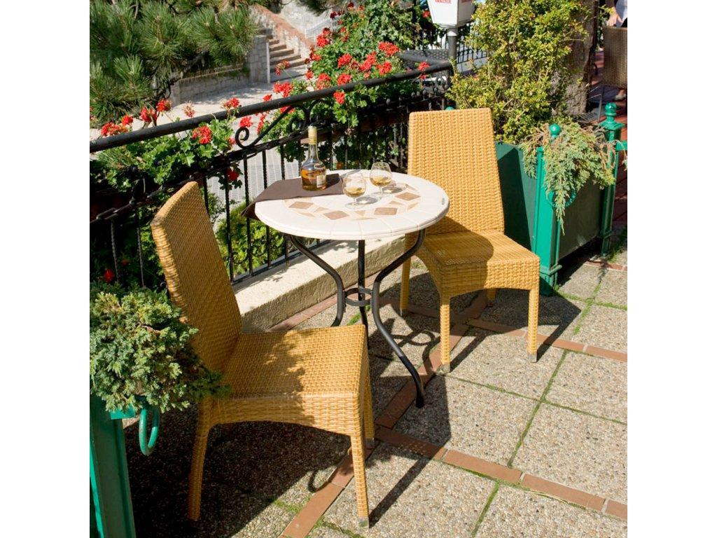 Kamenný zahradní stůl Roma 70 cm PATIO