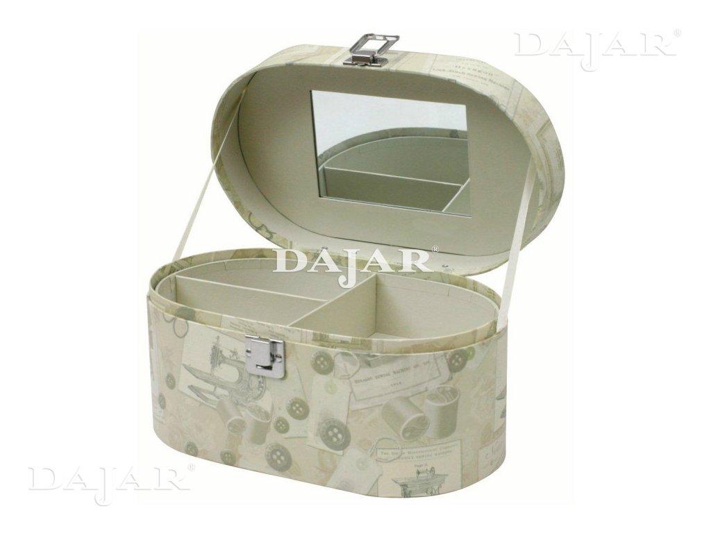 Lepenkový kufřík Retro 29,5 x 17 x 16 cm DOMOTTI