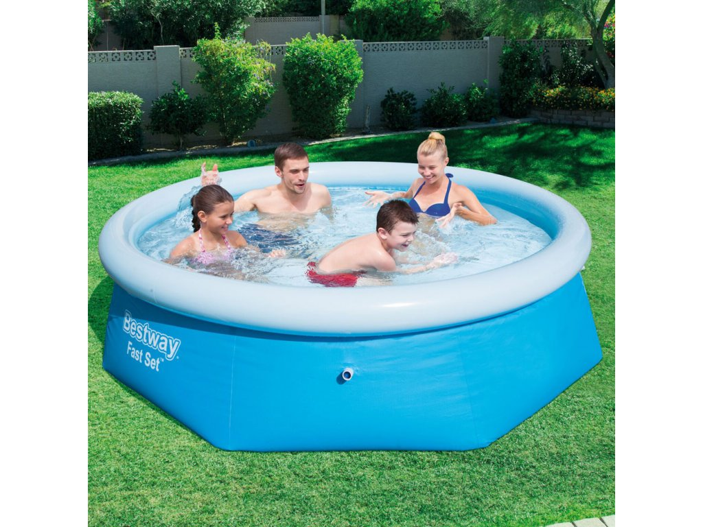 Nadzemní bazén s límcem 244 x 66 cm BESTWAY
