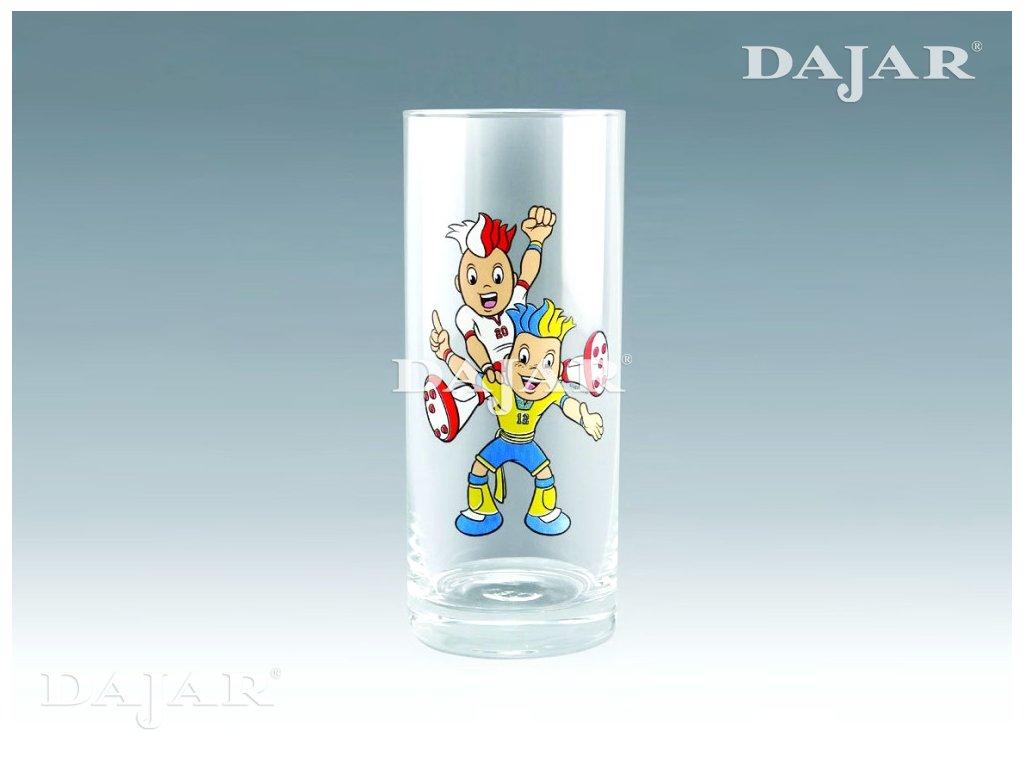 Sada 2 sklenic na Long drink Maskoti 300 ml Euro 2012