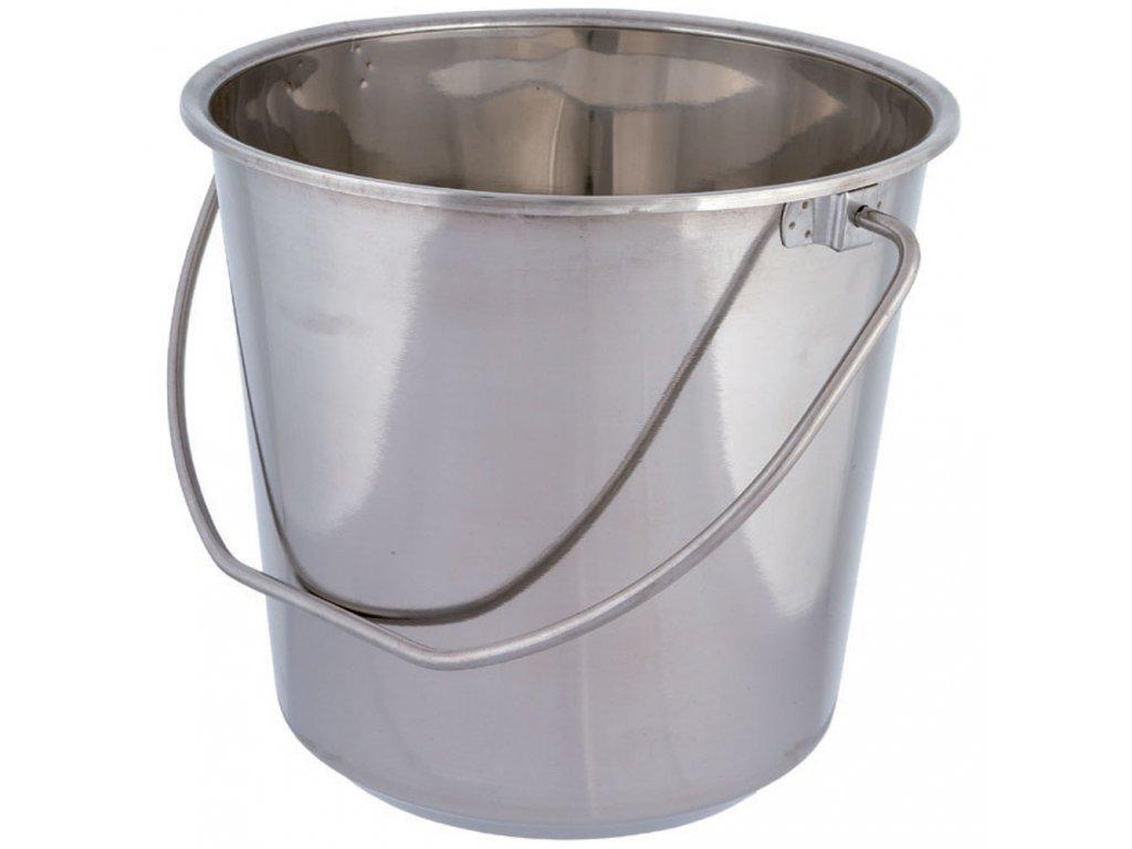 Nerezový kbelík 14 l DOMOTTI