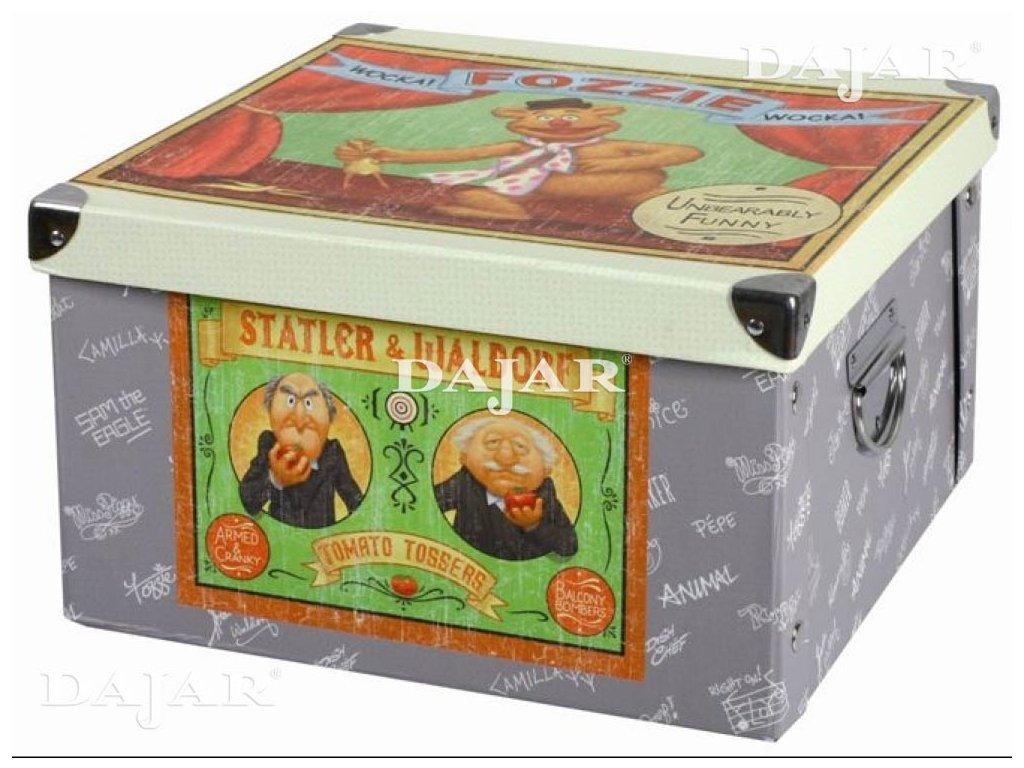 Velká lepenková krabice The Muppet Show 31,5 x 31,5 x 18 cm DISNEY