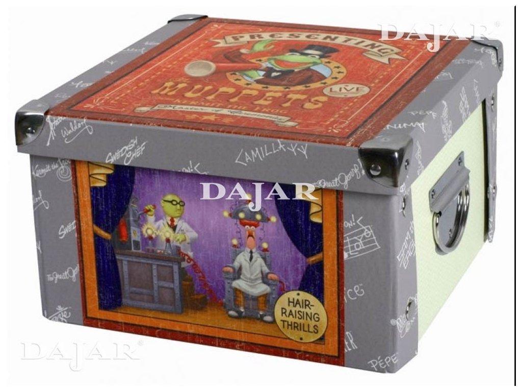 Střední lepenková krabice The Muppet Show 24 x 24 x 14 cm DISNEY