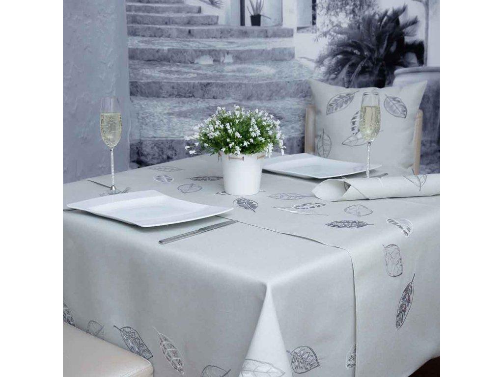 Podložka na stůl z polyesteru Leaf 30 x 30 cm AMBITION