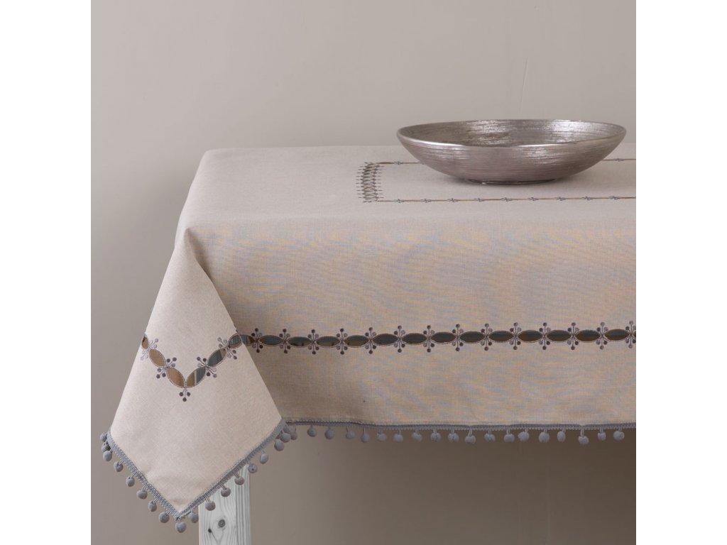 Dekorační ubrus z polyesteru Ornament 130 x 160 cm AMBITION