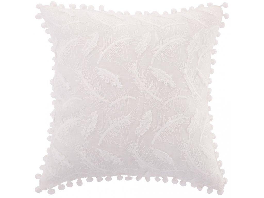 Povlak na polštář z polyesteru Lovely Feather 42 x 42 cm AMBITION