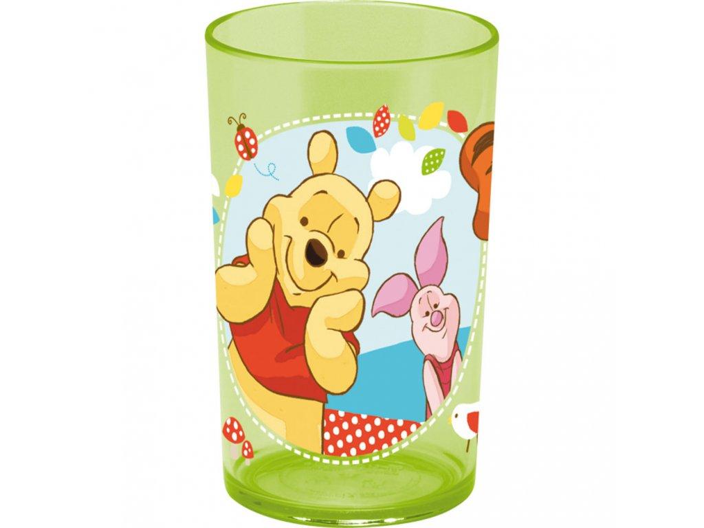 Melaminová sklenice Medvídek Pú v lese 225 ml DISNEY