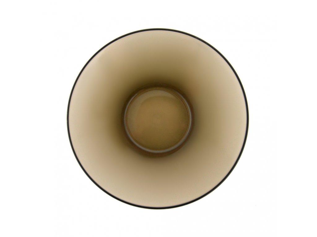 Podšálek z kouřového skla New Morning 13 cm LUMINARC